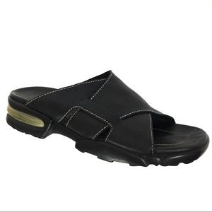 Cole Haan Nike Air Zoe Black Slip On Sandals